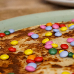 Kinderpannenkoek appel